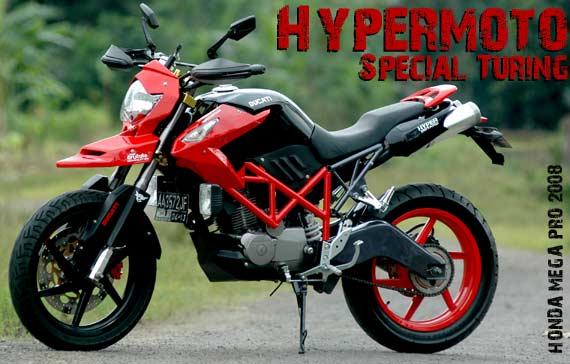 Honda Mega Pro. Punggawa One Brutalle Modification (OBM), Banjarnegara
